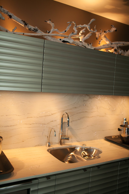 A New Point of View contemporary-kitchen