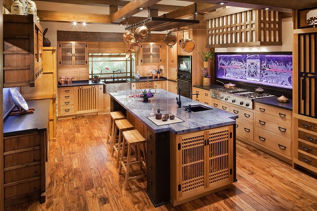 A Path to Japan - Asian - Kitchen - Los Angeles - by DeWitt Designer ...