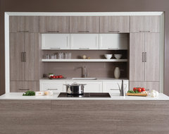 A Perfect Blend of Texture and Simplicity contemporary-kitchen