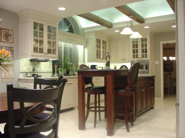 A Pewter Inspired Kitchen traditional-kitchen