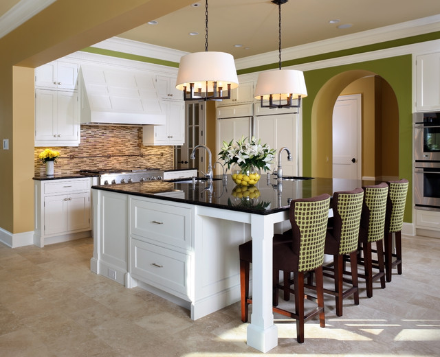 Small Kitchen Island With Stools Houzz