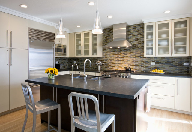 A Ranch Remodel Re-born contemporary-kitchen