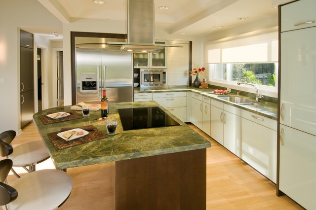 A Room With A View contemporary-kitchen
