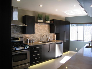 Interiors For Kitchen a.s.d. interiors kitchen remodel - contemporary - kitchen - los