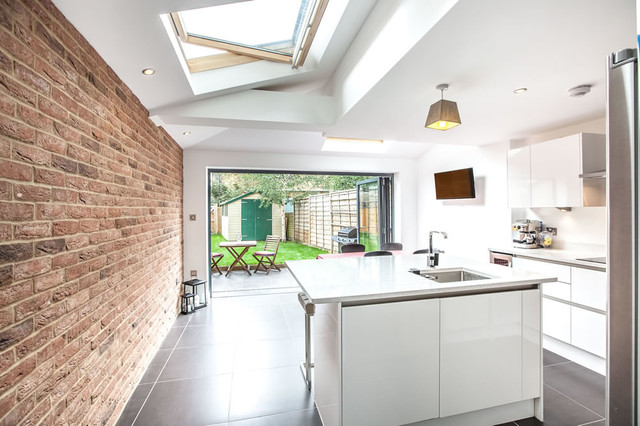 A Single Storey Kitchen Extension In Twickenham By L E