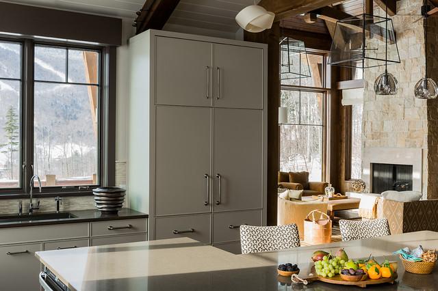 A Ski House - Stowe, VT modern-kitchen