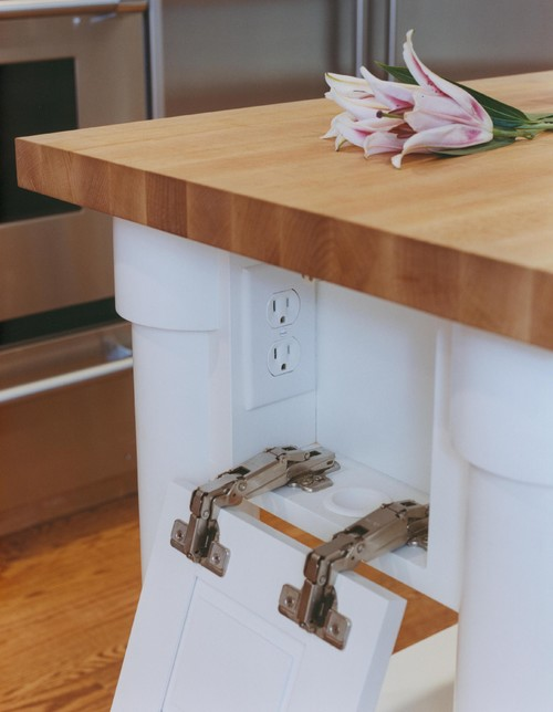 Where To Put Electric Box On Kitchen Island