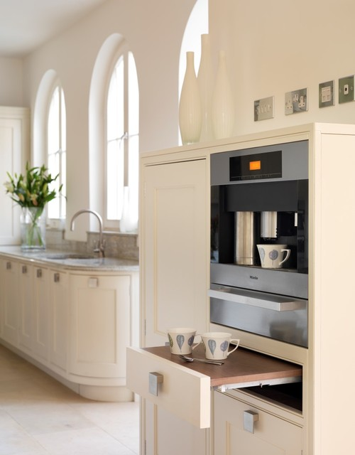 A Timeless Elegance Transitional Kitchen Berkshire By Extreme Design