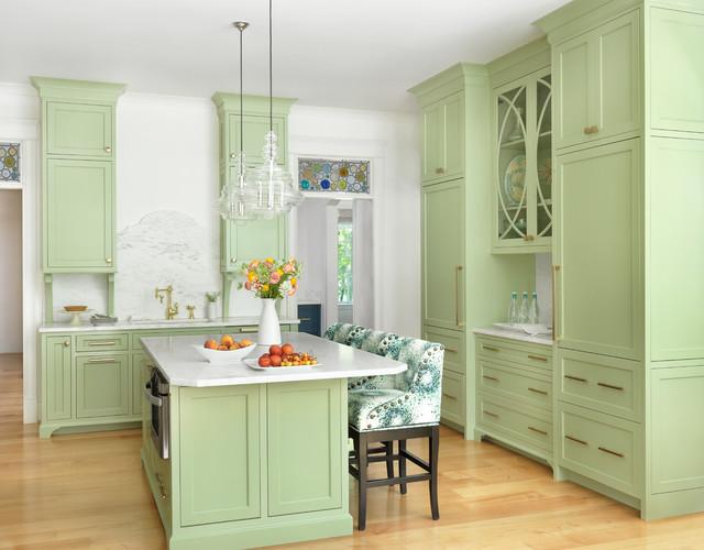A Touch of Brass - Klassisch modern - Küche - St. Louis - von Amy ...