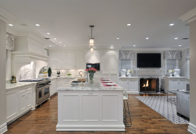A Touch Of Grey Traditional Kitchen New York By