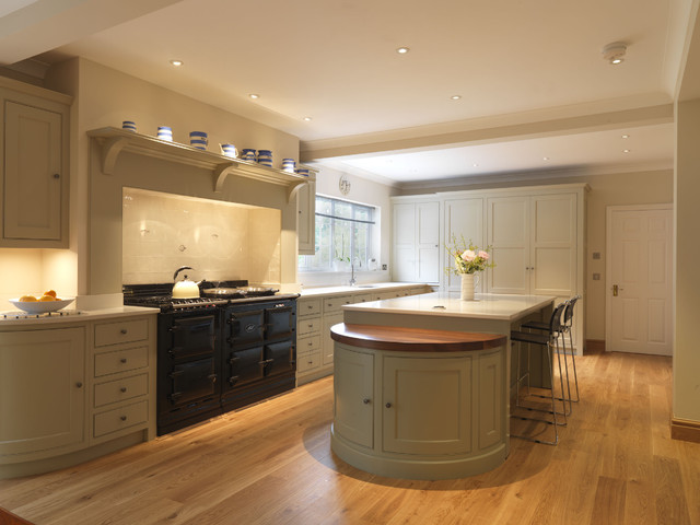 garage lighting ideas uk - A Traditional Country Kitchen Traditional Kitchen
