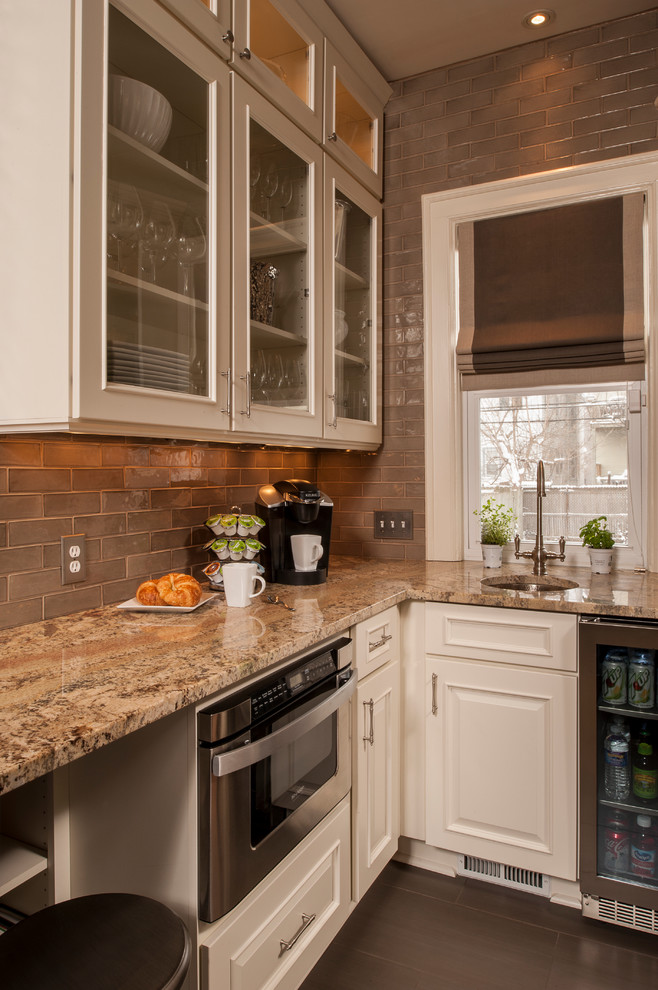 A True Classic in Buffalo - Transitional - Kitchen - New ...