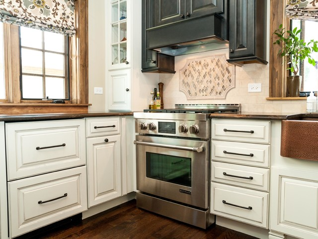 A Twist on Tradition traditional-kitchen