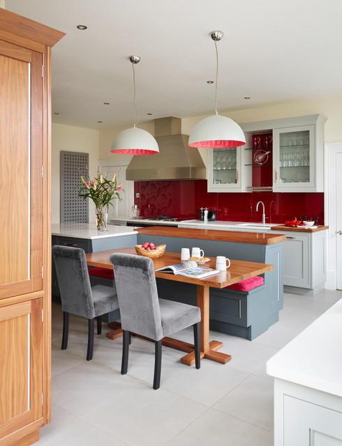 A very modern mix transitional kitchen london by for Very modern kitchens
