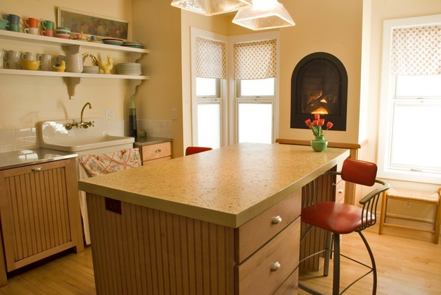 A Vintage Kitchen Traditional Kitchen Other Metro By Kitchen Concepts Inc