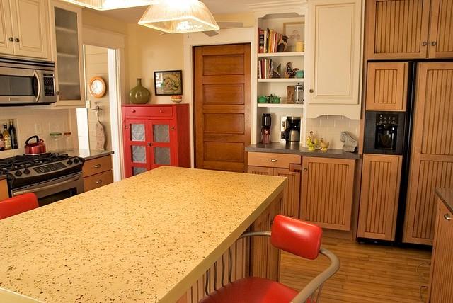 A Vintage Kitchen traditional-kitchen