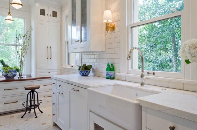 A white monte vista kitchen traditional kitchen for Colorado kitchen designs llc