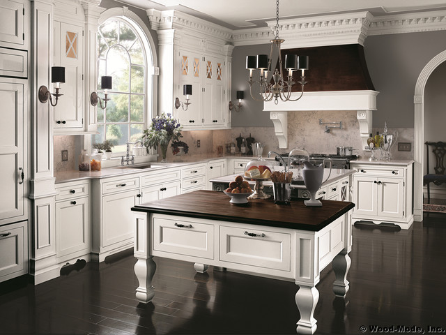 A: Wood Mode 1 traditional-kitchen