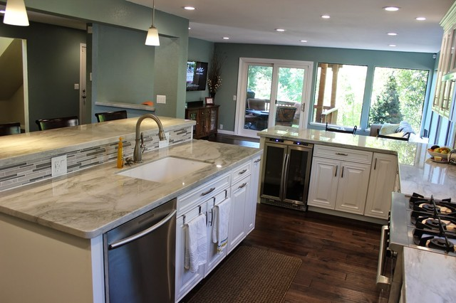 Aaron Kitchen Renovation Contemporary Kitchen Sacramento By Mccurdy Builders