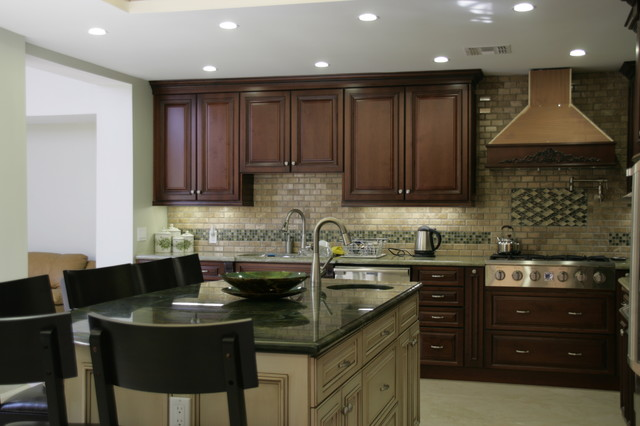 AB Designs & Remodeling Kitchen traditional-kitchen