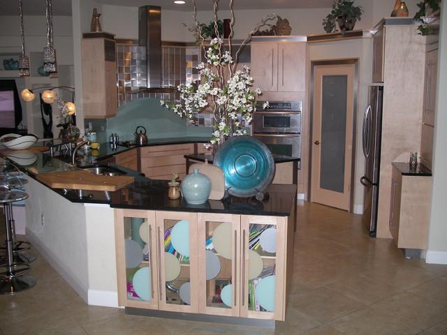 Abbas contemporary-kitchen