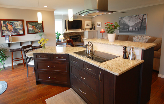 Abbotsford townhouse renovation for California kitchen cabinets abbotsford
