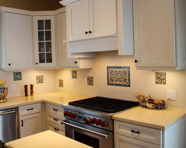 Abeers Kitche tile backsplash in Canada - traditional - kitchen ...