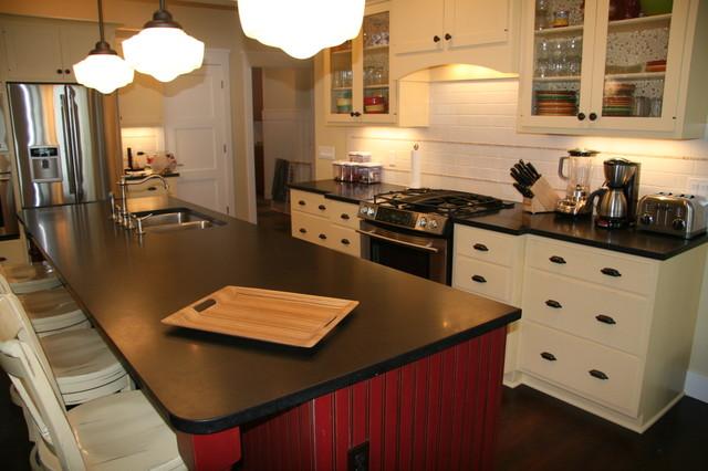 Absolute Black Granite Kitchen : Absolute black honed granite contemporary kitchen