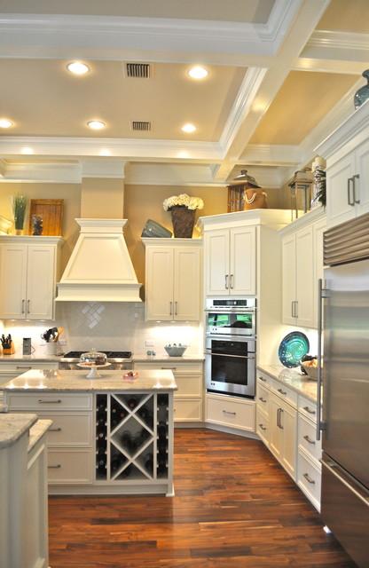 Acacia Golden Teak Hardwood Ponte Vedra Beach, FL beach-style-kitchen