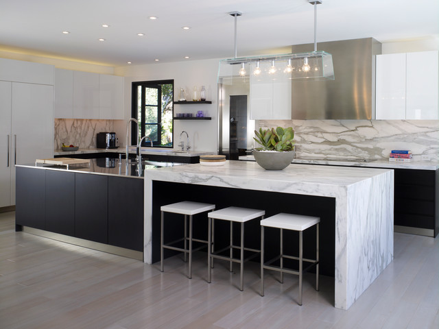 Acacia contemporary kitchen los angeles by thinkpure for Acacia kitchen cabinets