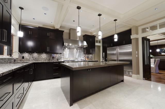 Acadia Road Residence contemporary-kitchen