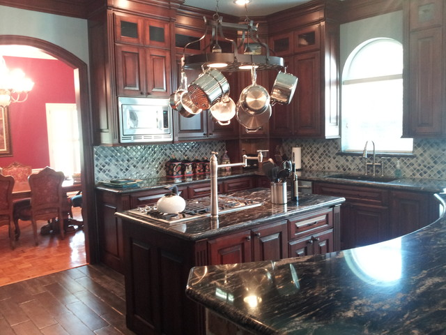 Acadian Style Mediterranean Kitchen Other Metro By