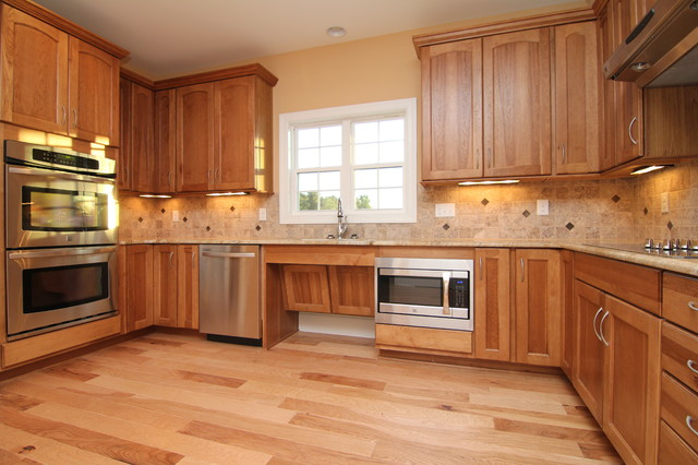 Lovely Accessible Kitchen Cabinets Traditional Kitchen