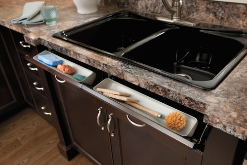 Kitchen Sink Hidden Tip Out Storage Accessories