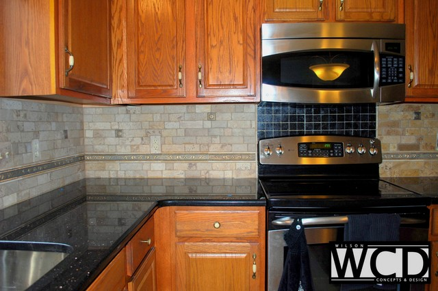 Adams Kitchen Counters Backsplashtraditional Detroit