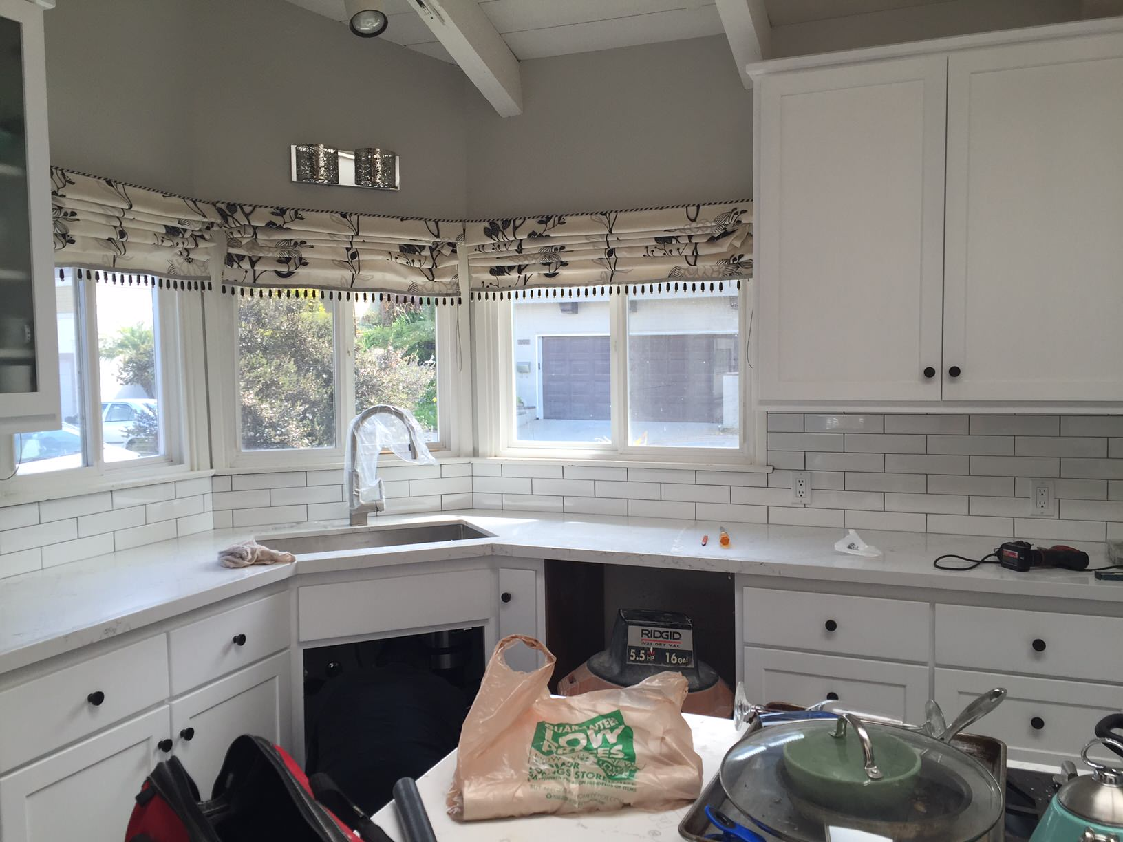 Adamski Kitchen in the middle or renovation