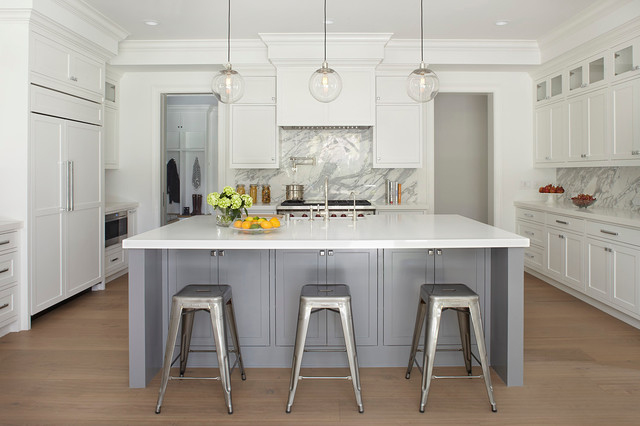 Addison house transitional kitchen san francisco for Kitchen ideas 2018 grey