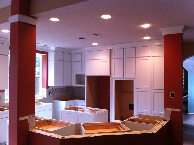 Addison, TX residential remodel contemporary-kitchen