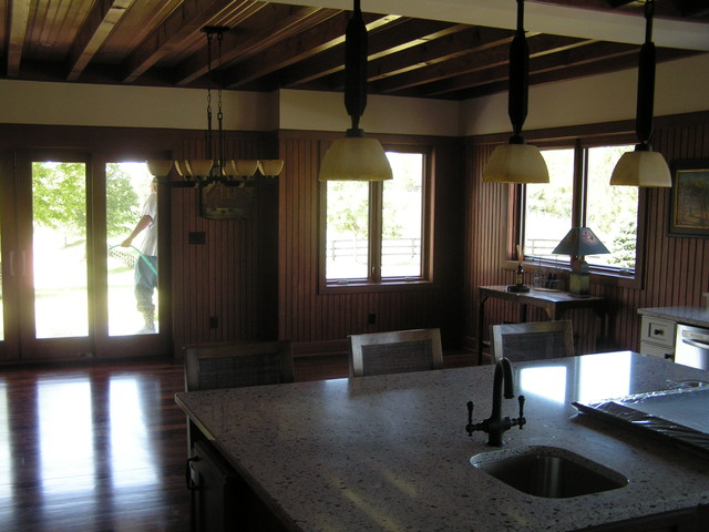 Addition and new barn, Labadie, MO traditional-kitchen