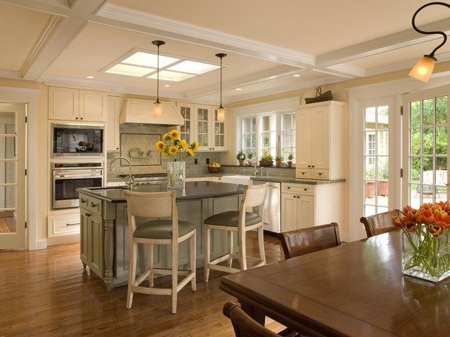 Addition and Remodel traditional kitchen