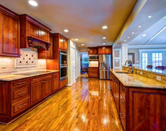 Addition in Oak Hill, VA traditional-kitchen