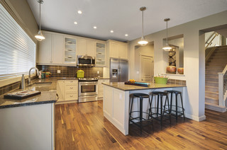 Adero Showhome in Secord contemporary-kitchen