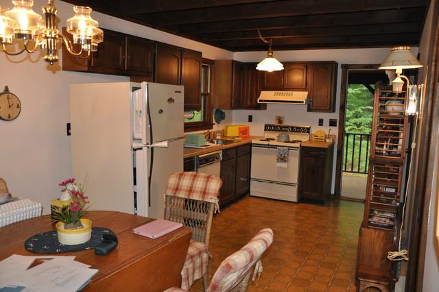 Adirondack Cabin Kitchen Remodel In Bolton Landing New