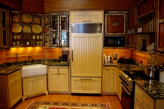 Adirondack Rustic Kitchen