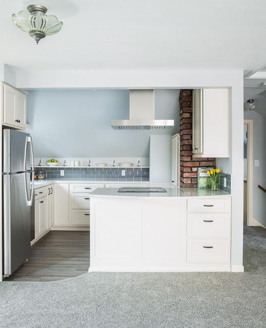 Adorable Green Lake Adu Modern Kitchen Seattle By