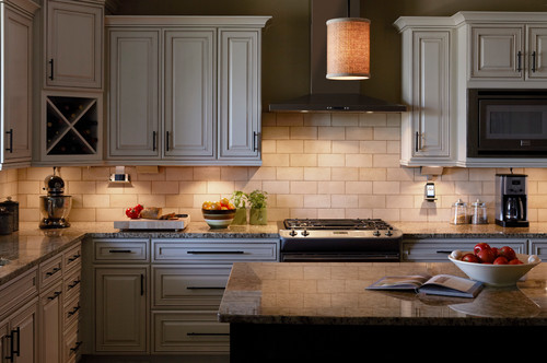 Best LED Under Cabinet Lighting 48 Reviews Ratings Impressive Backsplash Lighting Model