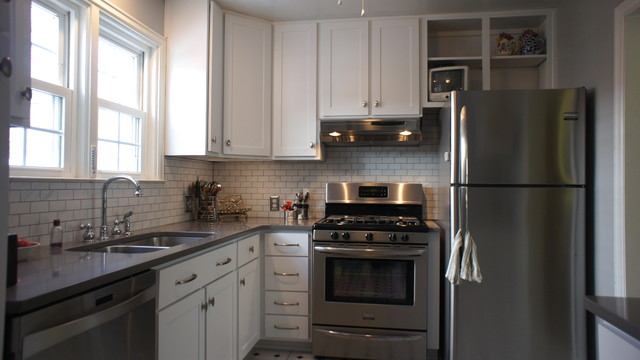 Affordable Reface transitional-kitchen