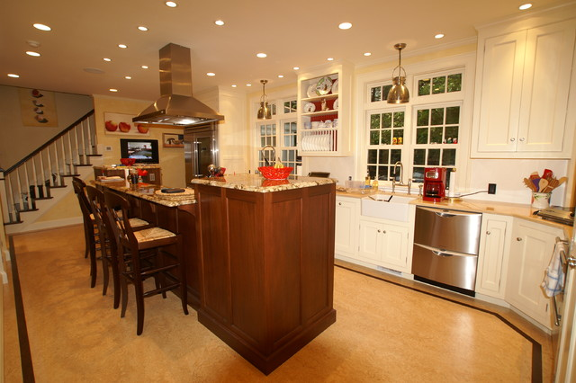 African mahogany island traditional kitchen boston for African kitchen gallery