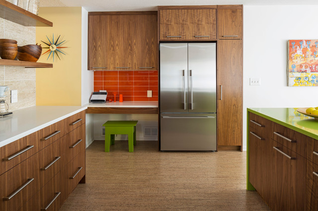 After 5 Saint Anthony Mid Mod Kitchen Midcentury
