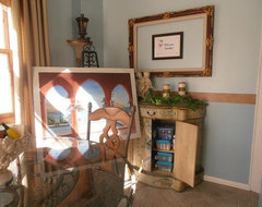After - Art Studio and Breakfast Room - Very Small traditional-kitchen